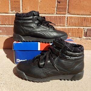 Vintage Reebok Freestyle Hi Ripple Sneakers Size 8